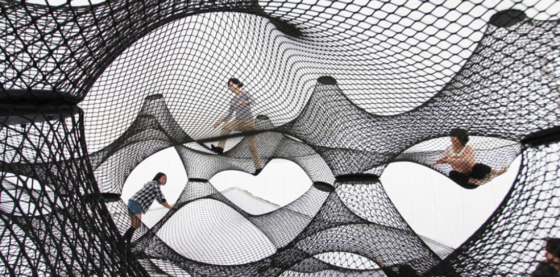 Net Blow-Up – Installation Playspace