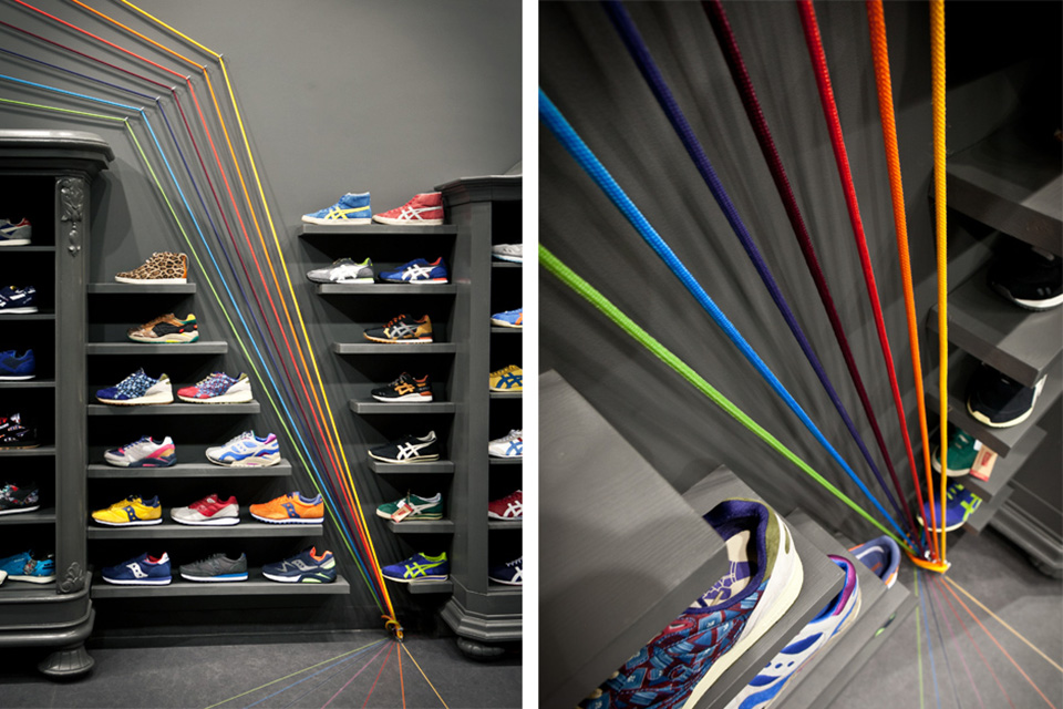 Run Colors Sneaker Store by Modelina Architekci 5