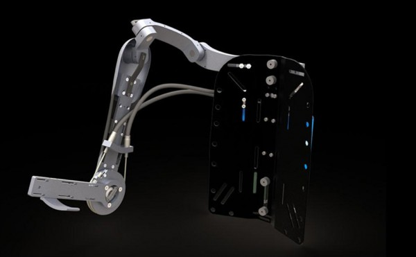 Titan Arm Exoskeleton 2013 James Dyson Award Winner 3 600x371 Titan Arm Exoskeleton   2013 Dyson Award Winner