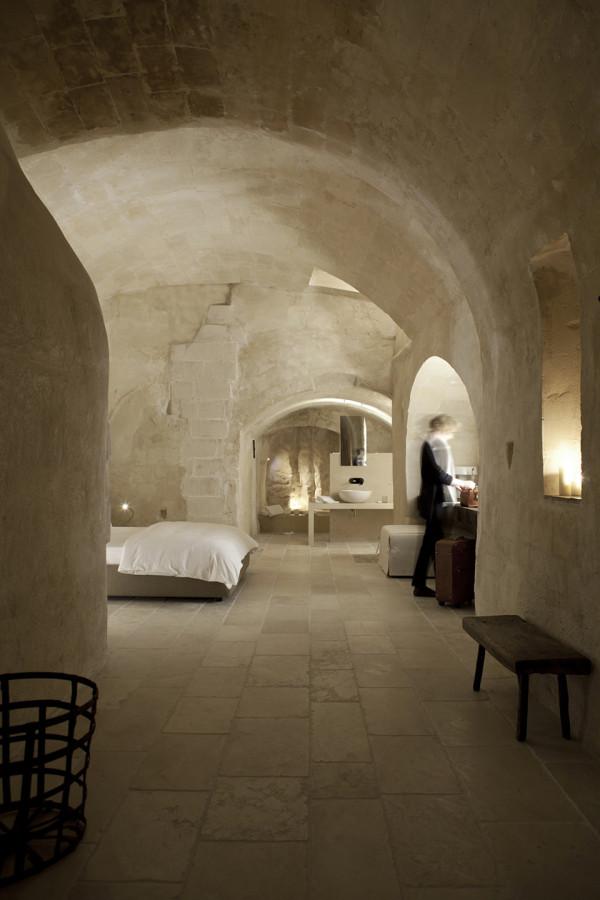 Corte San Pietro Hotel by Daniela Amoroso 1 600x900 Corte San Pietro Hotel in Italys Cave City