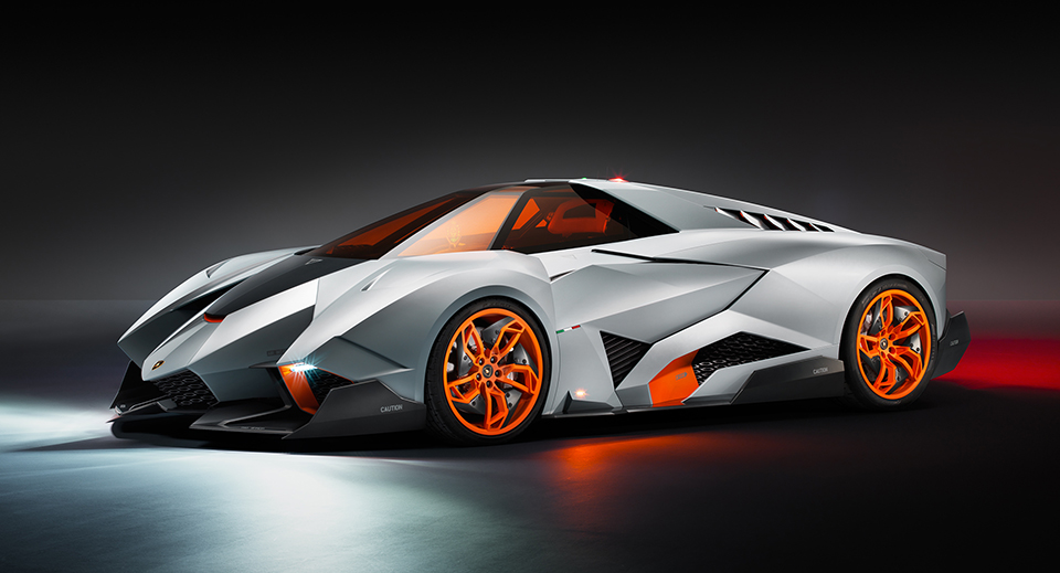 Lamborghini Egoista Concept 1 Motorlust: The Top 10 Exotic Cars of 2013