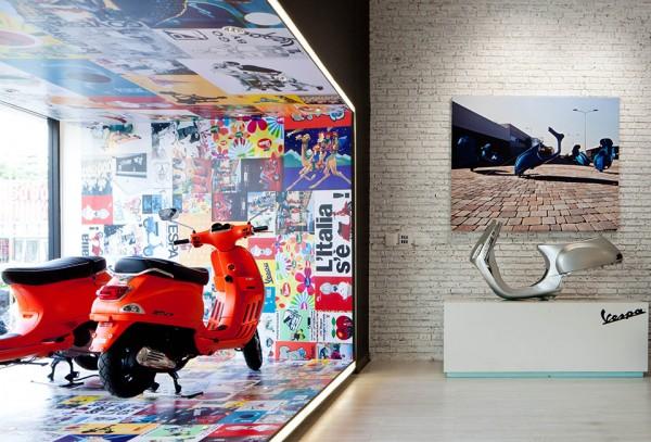 Vespa Galleria Bangkok by Supermachine 3