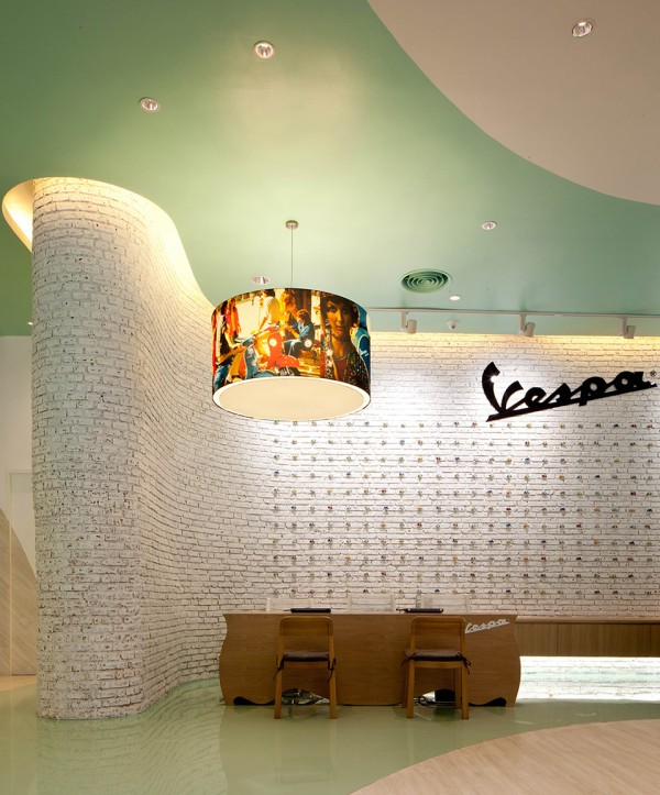 Vespa Galleria Bangkok by Supermachine 5