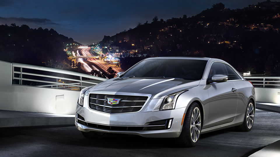 black trend reviews cadillac coupe rating motor cars ats chrome and three quarter front