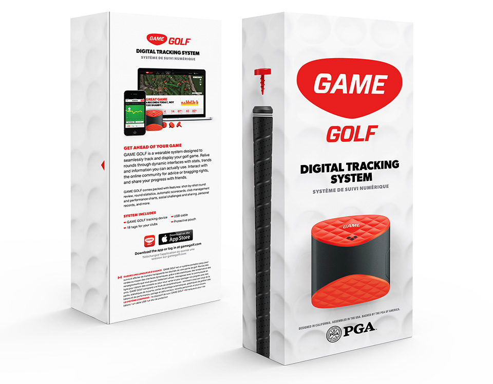 GAME Golf swing tracker 2