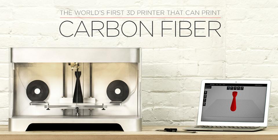 Mark One Carbon Fiber 3D Printer 2