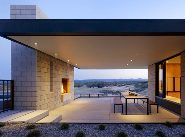 Paso Robles Residence by Aidlin Darling Design 2 600x447 Paso Robles Residence by Aidlin Darling Design
