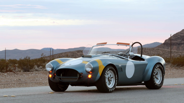 Shelby Cobra 50th Anniversary Edition 1 600x337 Shelby Cobra 50th Anniversary Edition