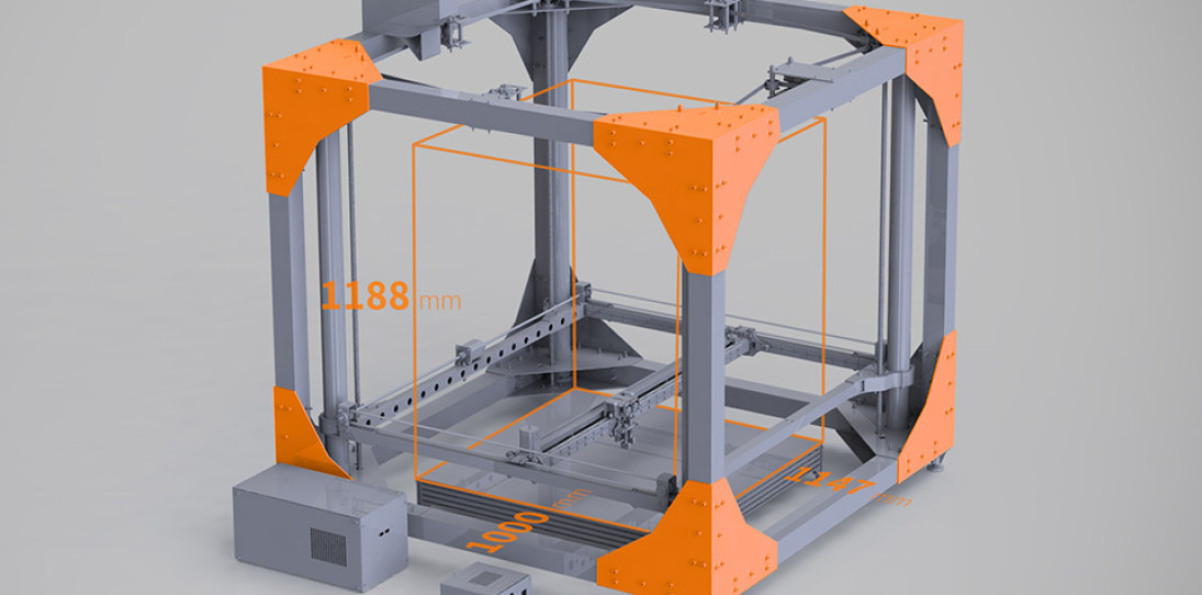 BigRep Large-Scale 3D Printer