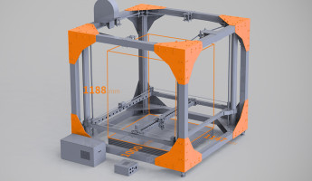 BigRep Large-Scale 3D Printer
