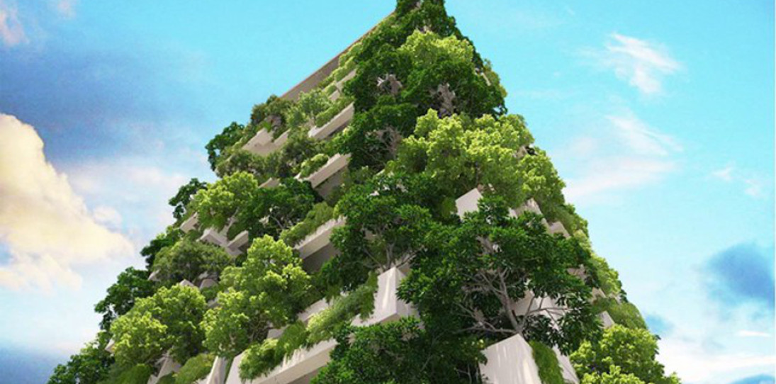 The World's Tallest Residential Garden – Clearpoint Tower