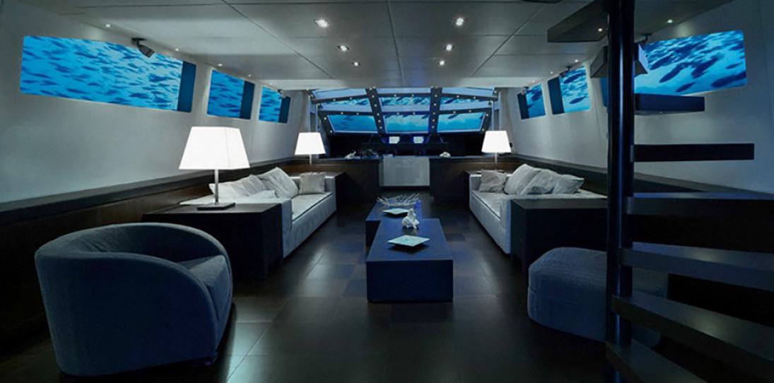 """Olivers Travel's """"Lovers Deep"""" Luxury Submarine"""