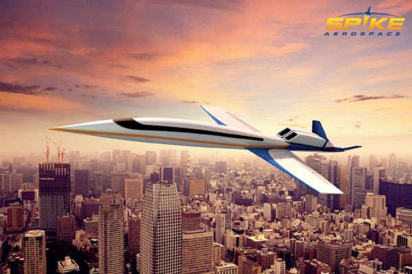 Spike Aerospace Design 600x399 Spike Aerospace Supersonic Private Jets