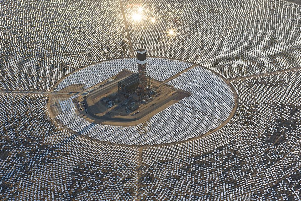 Worlds Largest Solar Array – Ivanpah – 2