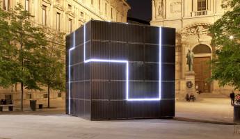 e-QBO: a Modular Solar Power Monolith
