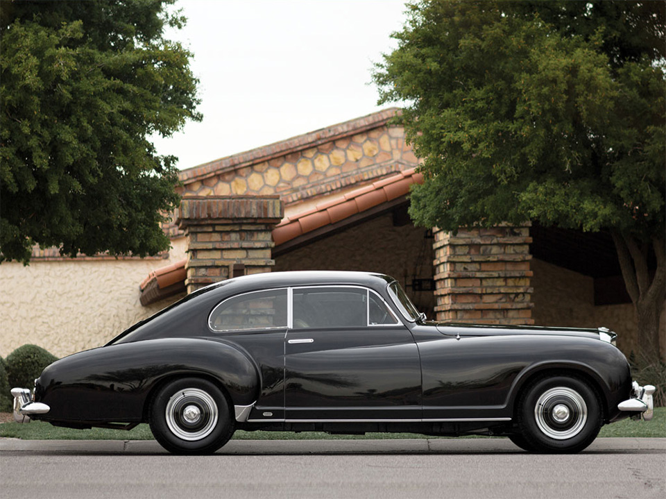 1954 Bentley R-Type Continental Fastback Sports Saloon by Franay 9