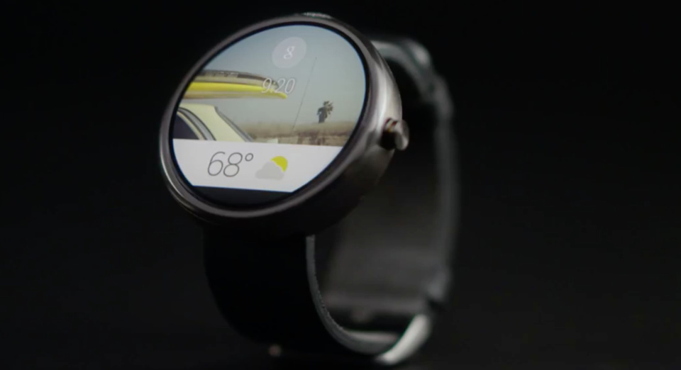 Android Wear Watch Design