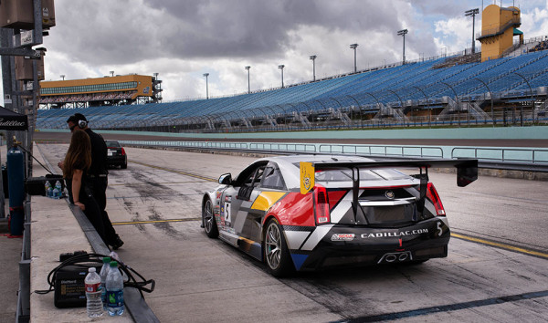 Cadillac-V-Series-Charity-Event-at-Trump-Doral---Cadillac-Racecar-2