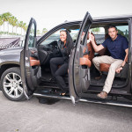 Cadillac-V-Series-Charity-Event-at-Trump-Doral---Escalade-Chaperone-to-the-Pit