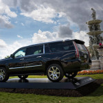 Cadillac-V-Series-Charity-Event-at-Trump-Doral---Escalade-Driveby