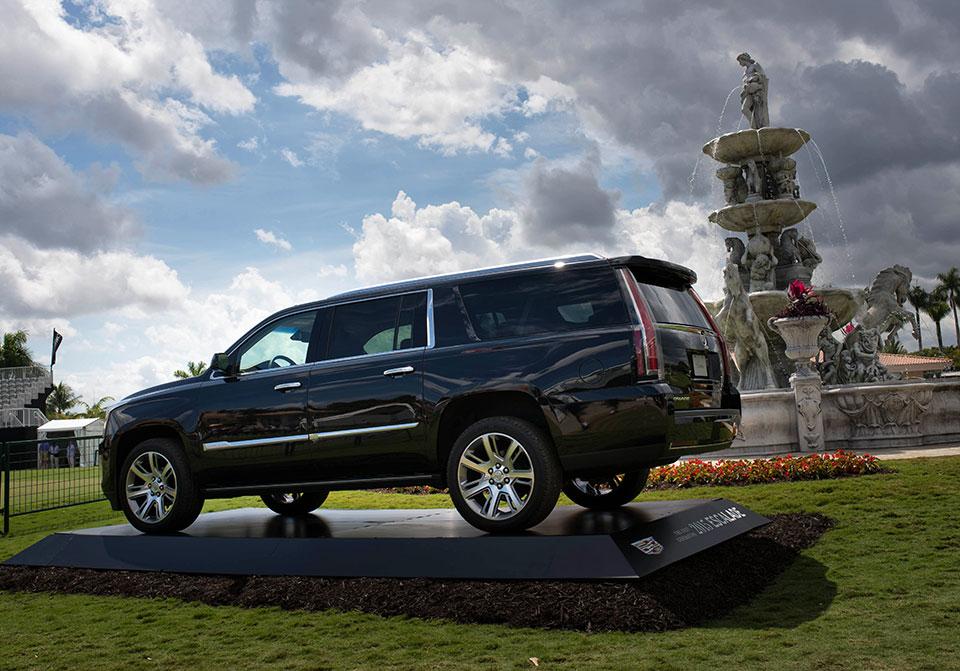 Cadillac-V-Series-Charity-Event-at-Trump-Doral—Escalade-Driveby
