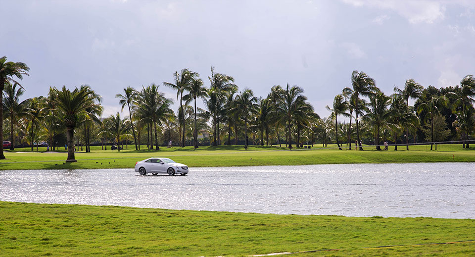 Cadillac-V-Series-Charity-Event-at-Trump-Doral—Floating-Caddy