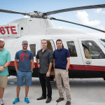 Cadillac-V-Series-Charity-Event-at-Trump-Doral---Trump-Helicopter-Group---Shane-Ryan---Graham-DeLaet---Mike-Payne--