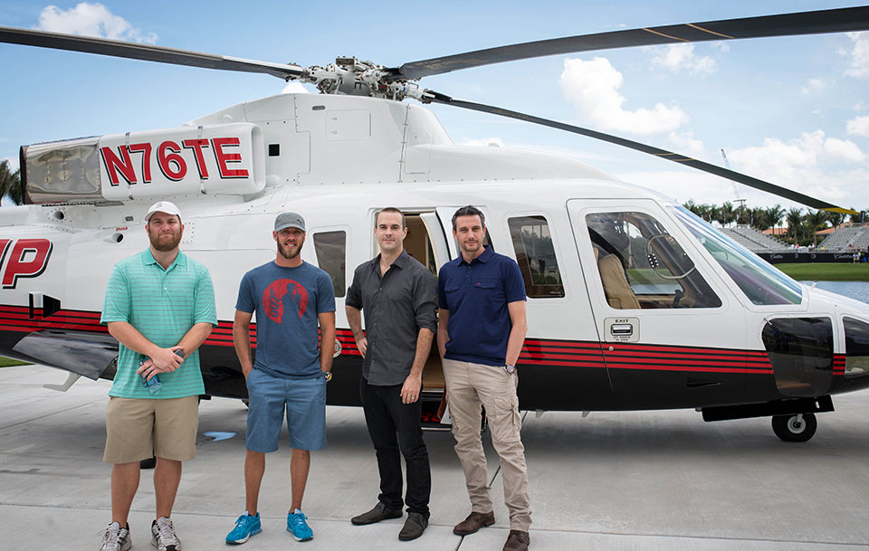 Cadillac-V-Series-Charity-Event-at-Trump-Doral—Trump-Helicopter-Group—Shane-Ryan—Graham-DeLaet—Mike-Payne–