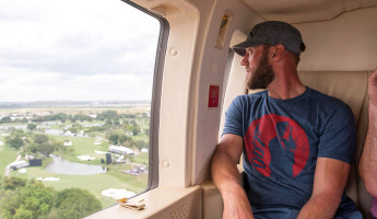 Racecars, Helicopters and Pro Athletes: a Charitable Day with Cadillac
