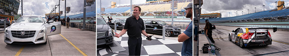 Cadillac V Series Charity Event at Trump Doral group one Racecars, Helicopters and Pro Athletes: a Charitable Day with Cadillac