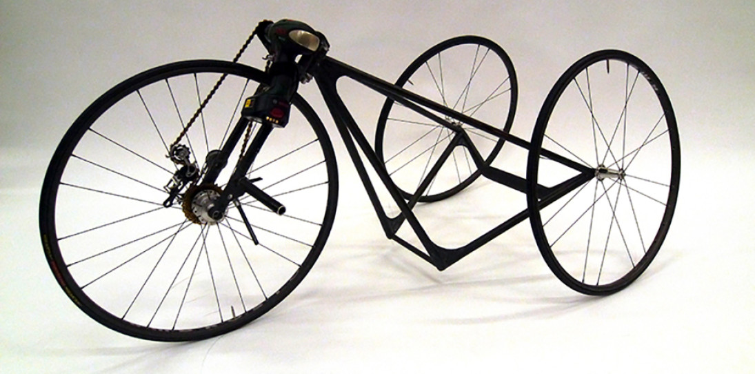 Carbon Fiber Electric Tricycle