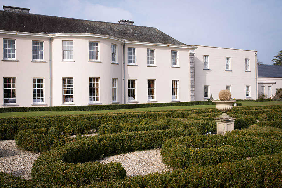 Castlemartyr Resort - Back-Garden and Architectural Detail © 2014 - Seamus Payne