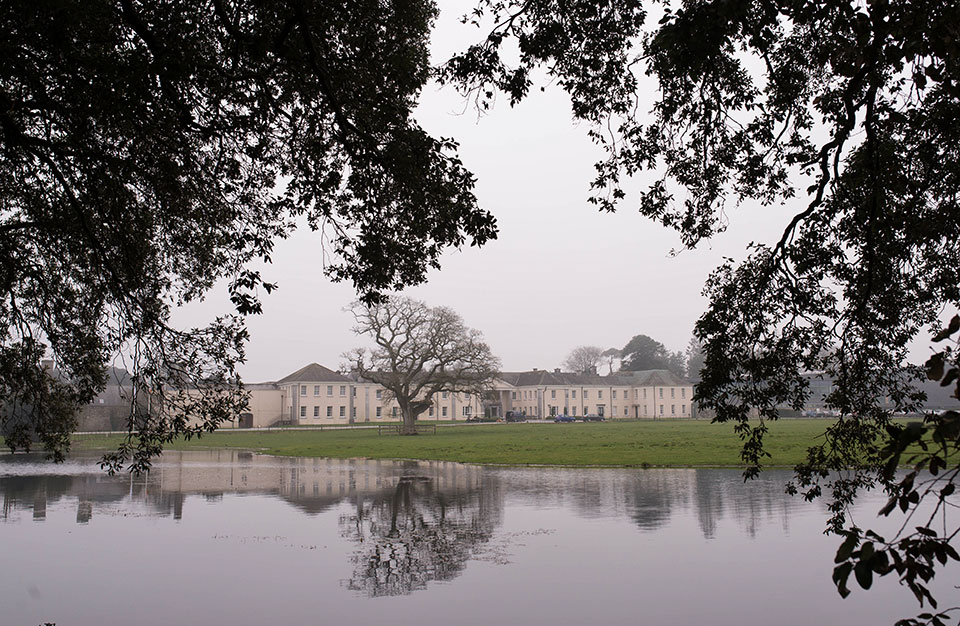 Castlemartyr Resort - Reflection Off Pond © 2014 - Seamus Payne