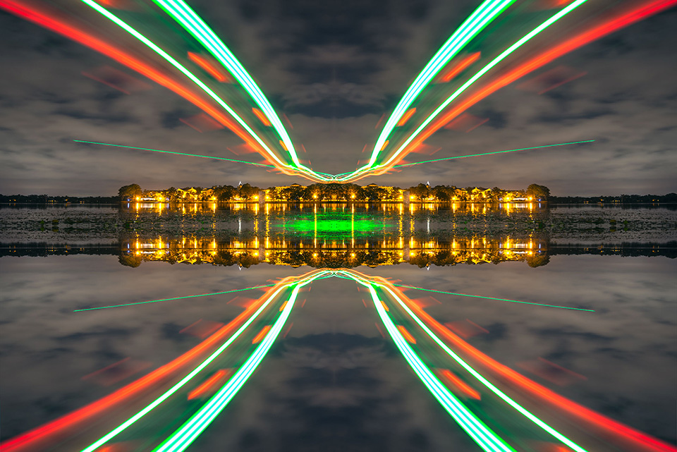 Drone Light Painting by FICTION 2