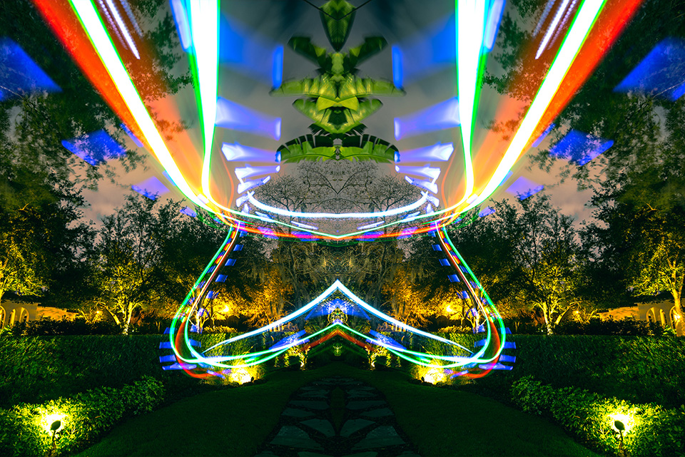 Drone Light Painting by FICTION 3