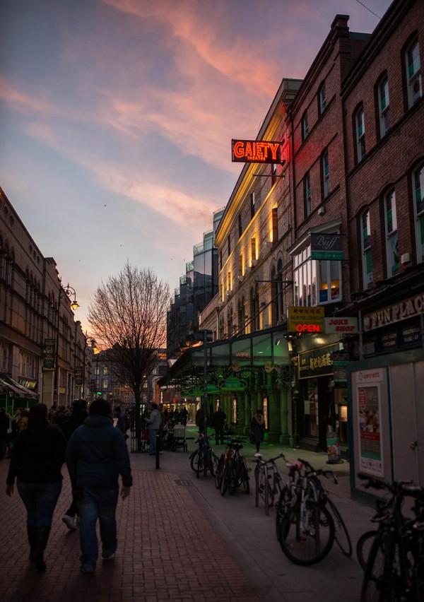 Dublin Atmosphere - Gaiety © 2014 - Seamus Payne