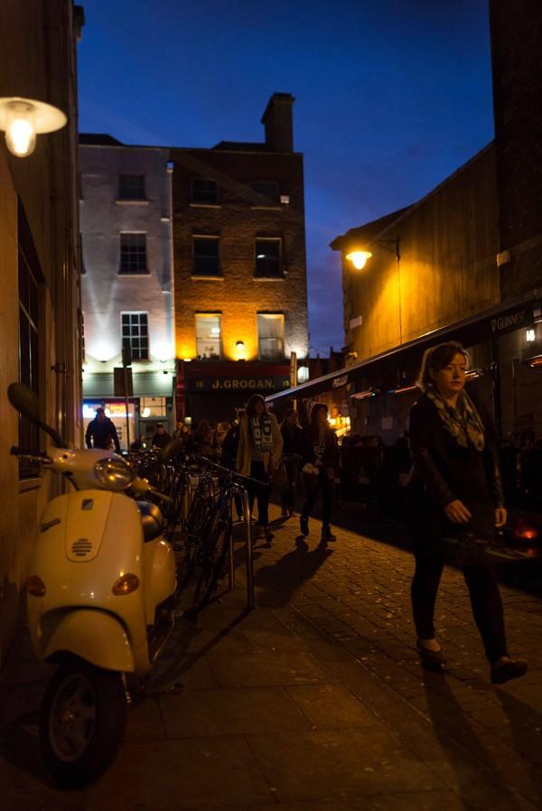 Dublin Atmosphere - Coppinger Row © 2014 - Seamus Payne