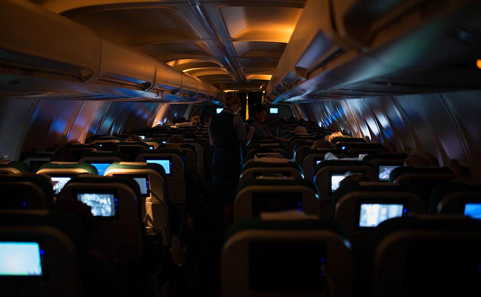 Flight-to-Shannon—Sleeping-Cabin