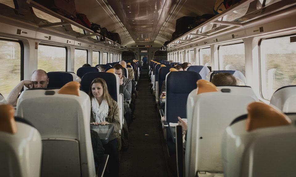 Irish Rail from Cork to Dublin © 2014 - Seamus Payne