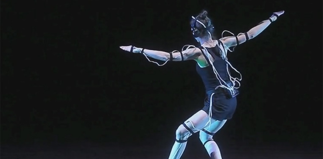 This Creepy Exoskeleton Will Make Music Dance To You
