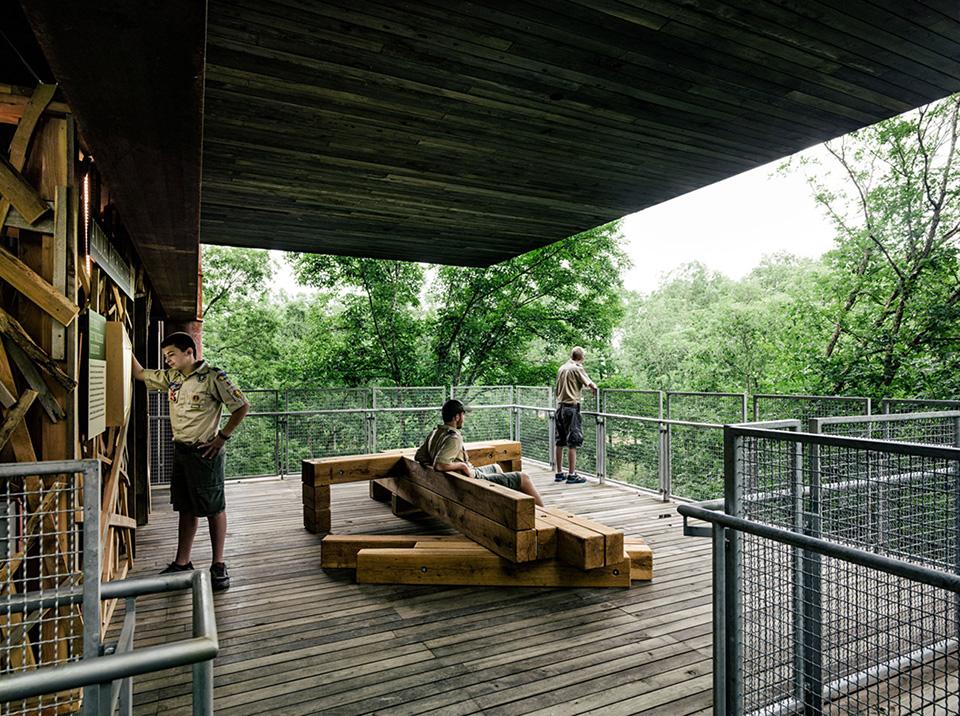 The Sustainability Treehouse – Photo by Joe Fletcher 6