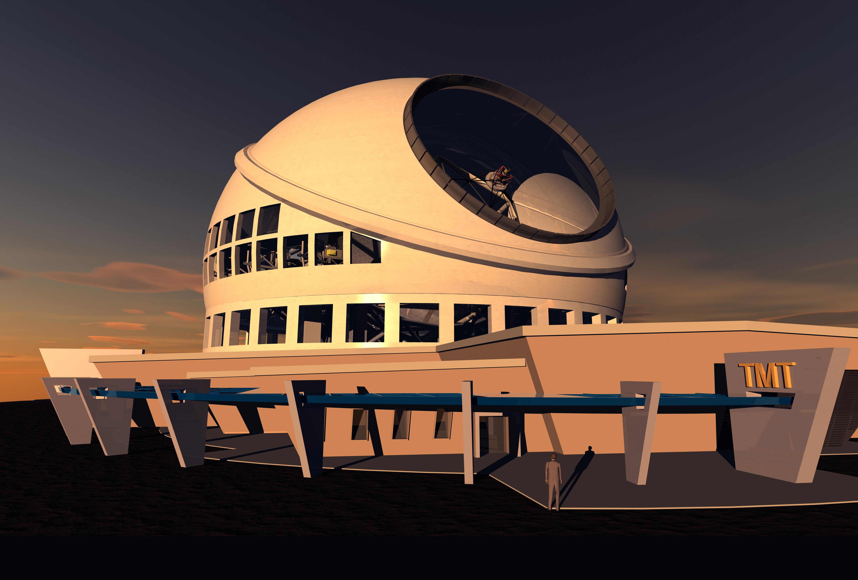 Thirty Meter Telescope Concep