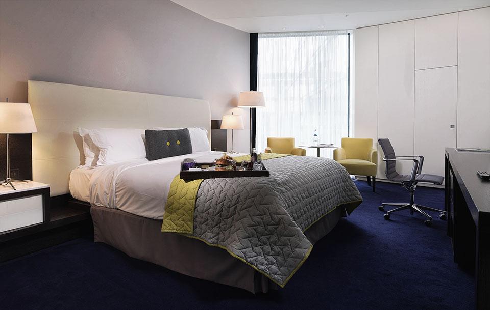 Marker Hotel Bedroom © 2014 - Seamus Payne