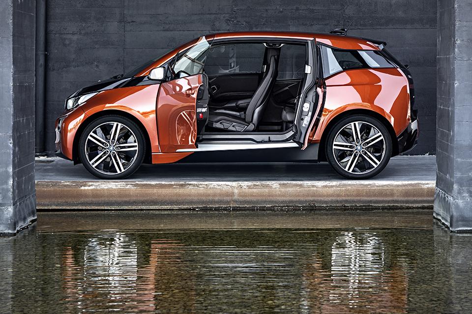 Luxury Electric Car: BMW-i3-Electric-Car-2