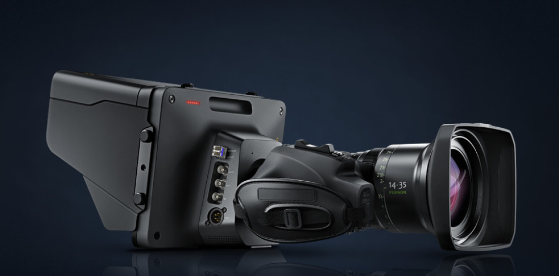Blackmagic Studio Camera: The World's Smallest, Most Advanced Broadcast Camera
