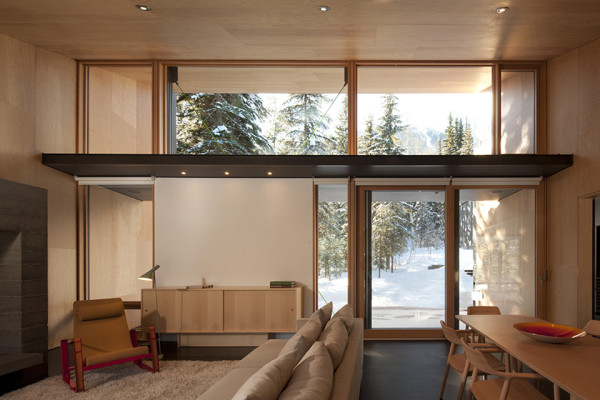 Kicking Horse Residence by Bohlin Cywinski Jackson and Bohlin Grauman Miller Architects 12