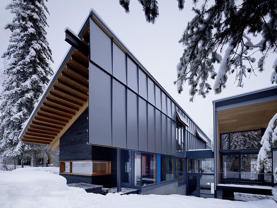 Kicking Horse Residence by Bohlin Cywinski Jackson and Bohlin Grauman Miller Architects 4