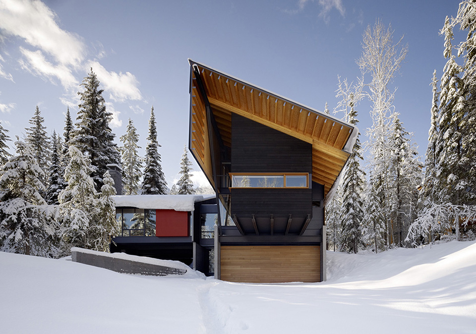 Kicking Horse Residence by Bohlin Cywinski Jackson and Bohlin Grauman Miller Architects 6