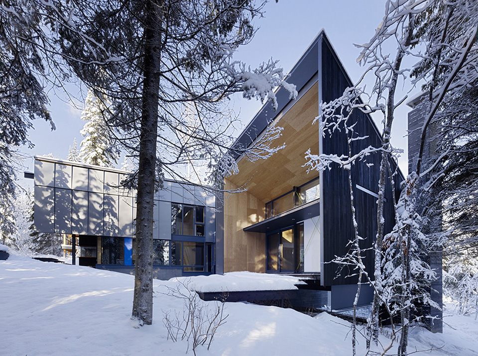 Kicking Horse Residence by Bohlin Cywinski Jackson and Bohlin Grauman Miller Architects 7
