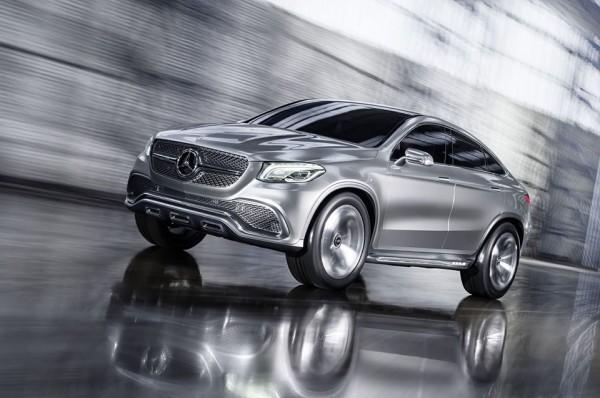 Mercedes Benz Concept Coupe SUV 2 600x398 Mercedes Benz Concept Coupé SUV